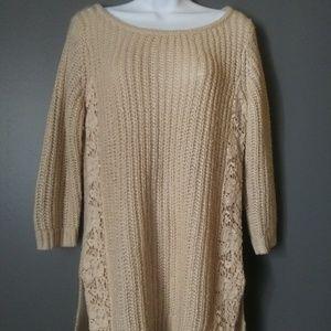 Lauren Conrad Chunky Knit Sweater